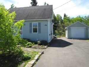 3 Bedroom Home with Detached Garage and Beauiful Unique lot