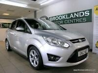 Ford Grand C-Max 1.6 TDCI ZETEC 115PS [3X SERVICES, ?30 ROAD TAX and DAB RADIO]