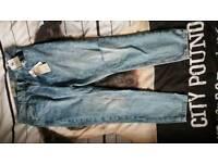 brand new unworn size 14 mom jeans