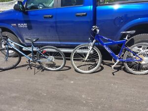 His and hers bike package