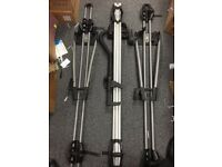 Thule ProRide 598 and 2 x 532 Roof Mounted Bike Racks