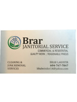 Brar Janitorial Services | Commercial and Residential