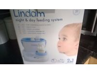 Lindam Night and Day (Two in One) Baby Bottle Warmer & Bottle Cooler new