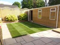 Summerhouse/ man caves / garden office /decking/ patios