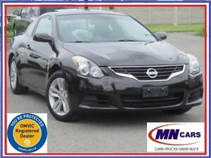 2012 Nissan Altima 2.5 S CVT Coupe w/Sunroof & Back-up Camera