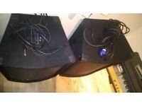 PA Speakers 100 watts each !