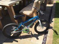 """Children's bike age 5-8 yrs 18"""" wheel"""