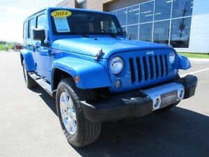 Jeep Wrangler Unlimited 4WD 4dr Sahara 2014