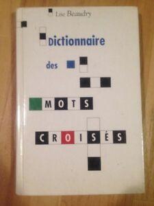 3 DICTIONNAIRES DE MOTS CROISÉS
