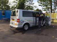VW Long wheel base minibus 9 seats