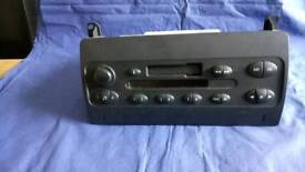 Rover 75 radio cassette player