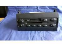Rover 75 radio cassette player