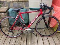 Red Viking Racing Bike