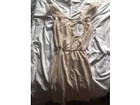 Brand New white Bershka dress NEW WITH TAG