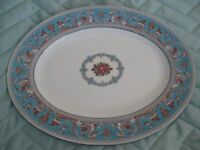 wedgewood serving plate florentine turquoise