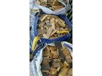 Dumpy bags of firewood