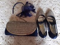 Shoes(size 5), Handbag and Headband
