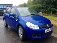 2006 Suzuki SX4 1.6 mot until mid July great driving family 5 door hatchback