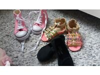 Girls Toddler Shoes Size 5-6