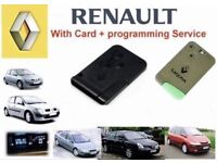 Renault keycard Replacement same-day service.
