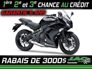 2015 Kawasaki Ninja 650 ABS Touring 19.82$*/ sem
