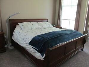 HUGE PRICE DROP - King size 5 piece bedroom suite by DURHAM