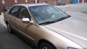 2002 Accord for sale: $1499, negotiable