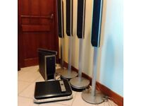 Sony DAV-FX900KW Home Cinema Theatre Speaker System Stand with Subwoofer