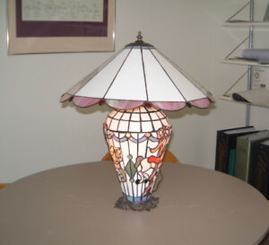 Stained Glass Carousel Horse Themed Lamp