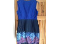 Three ladies dresses, excellent condition, lovely colours
