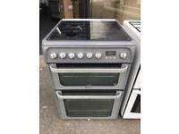 60cm cooker duel/fuel HOTPOINT