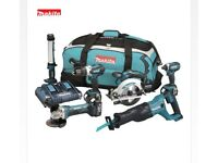 MAKITA DLX6044PT LXT 18V Li-Ion Cordless 6piece Combo Kit