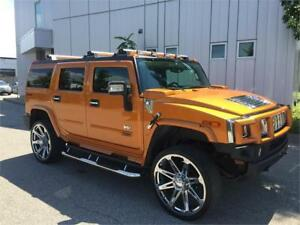 2006 HUMMER H2 NAVIGATION 26''CHROME WHEELS TV DVD 175KM