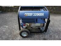 Power Craft 3200 DV Generator.