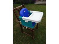 Baby/Toddler booster seat and/or high chair with tray