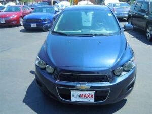 2015 CHEVROLET SONIC LT AUTO- REAR VIEW CAMERA, HEATED FRONT SEA
