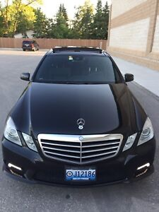 2010 MERCEDES E350 4MATIC AMG PKG
