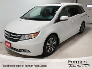 2014 Honda Odyssey Touring - Loaded | Remote start | 7 Yr War...