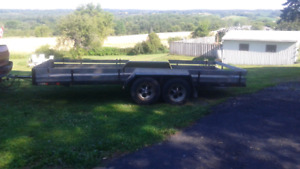 16 ft Dual Axle Trailer