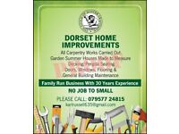 Dorset Home Improvements. All carpentry works carried out. Free Estimates. 30 years experience