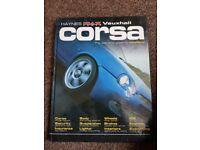 Vauxhall Corsa Modified Haynes Manual.