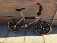 Mk1 chrome Raleigh burner old Skool bmx