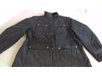M and s mens quilet jacket worn once