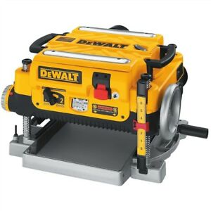 Wanted 13 in dewalt  thickness planer