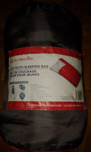 Outbound Lite Youth Sleeping Bag, 6°C
