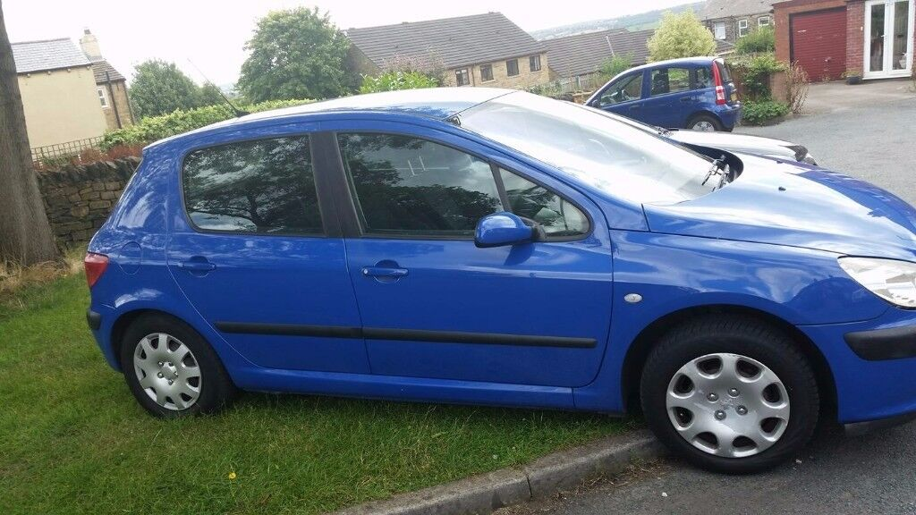peugeot 307 1.4 hdi £30 year tax bracket vgc for age reluctant