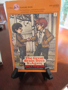 The Great Brain Does it Again - John Fitzgerald. 1st Ed VINTAGE