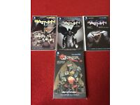 Batman Novels vol 1-3 and joker novel