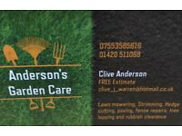 Anderson's Garden Care