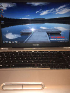 Toshiba laptop  130.00 firm